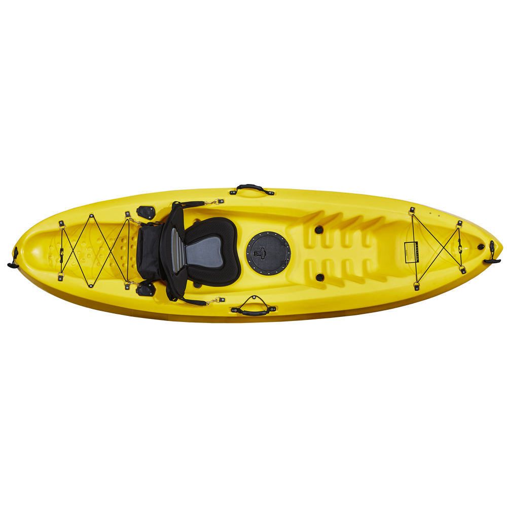 Single person plastic boat racing kayak factory wholesales directly