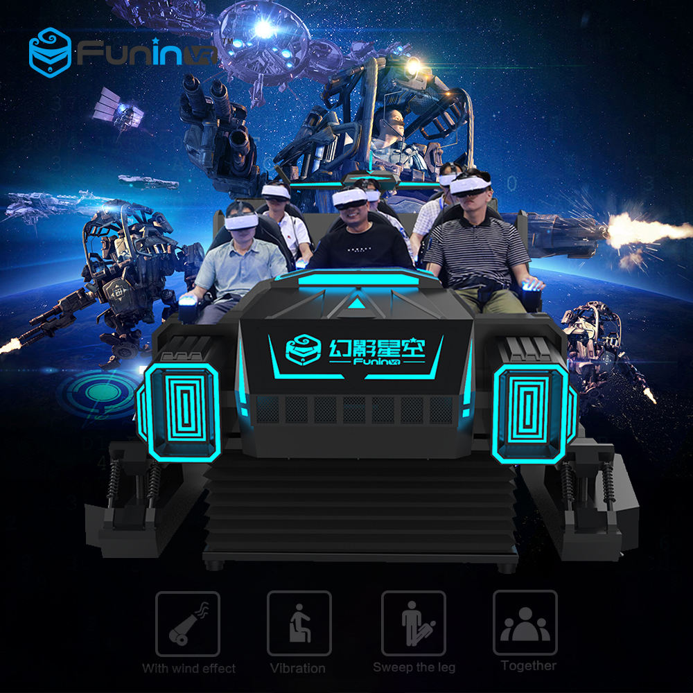 Dark Mars Car driving reality 5D 7D cinema movie VR glasses 9D virtual reality cinema chair 1seat to 6 seats