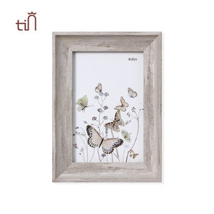 Hot Vintage Rustic Pet Dog Cat Table Top Wholesale Plastic Picture Photo Frame For Home Decor