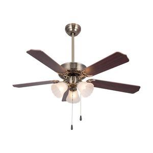 Ventilateurs de plafond led électriques à courant alternatif modernes simples avec ventilateur de plafond léger