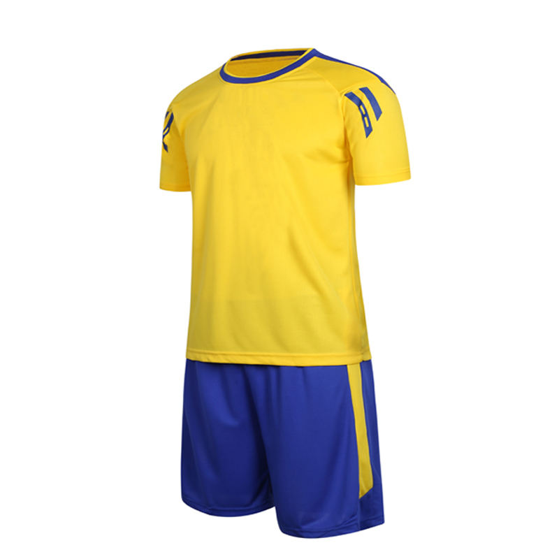 Factory Wholesale Thailand Quality Kids Soccer Jersey Set Custom Team Children Soccer Uniform Sets Football Jersey Kit