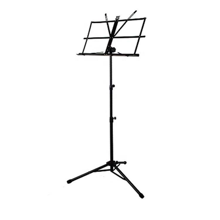 Durable Metal Portable Adjustable Tripod Sheet Music Stand