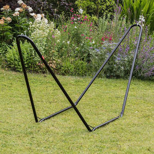 Hammock Metal Frame Stand, for Garden and Camping - Stand Only