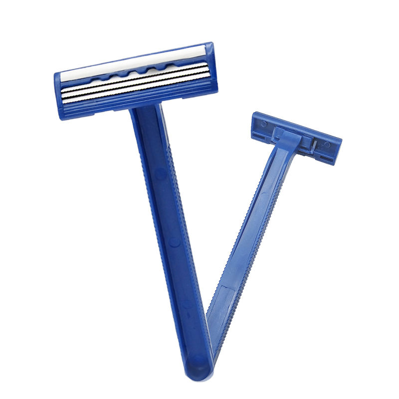 Strip+ Fixed Cartridge/ 3 Blades Safety Razor/ Disposable Blades 3 Razor