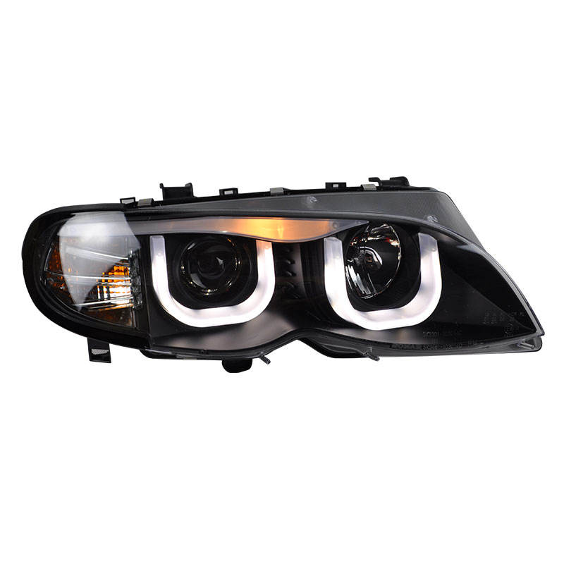New Car Lamp for BMW E46 Headlight Four door 3 Series 318 320 325330ci refit Xenon light source or LED light source