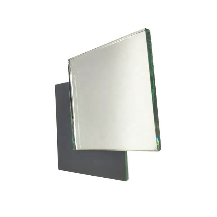 Wholesale single coated aluminum Mirror glass sheet with customize size