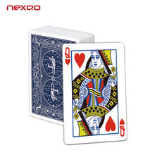 Hot Selling Professional Gold Plastic PVC RFID Poker Playing Cards