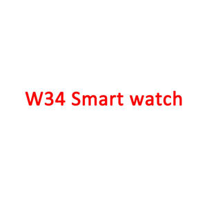 Dropshipping Series 4 Smartwatch 1: 1 W34 EKG Smart Jam Tangan Kebugaran IWO11 Olahraga Tahan Air Smart Watch untuk Apple Watch Seri 4