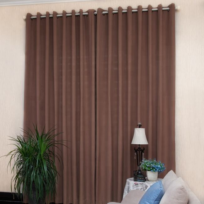 shenzhen curtains cream and brown rod blinds roll material office window curtain