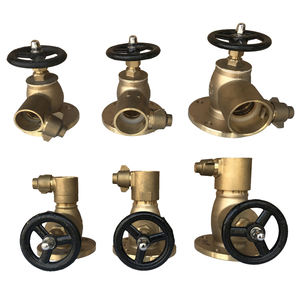 Buy Top Quality Marine Brass Globe Hose Valve & Firefighting and Deckwash Valves