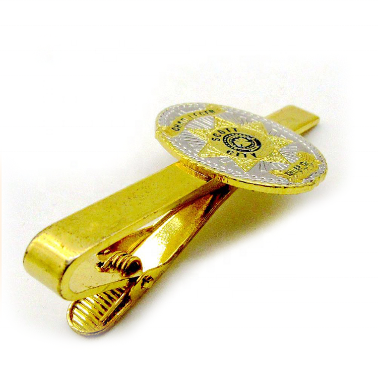 China Manufacturers Wholesale Women School Tie Clip Custom Logo