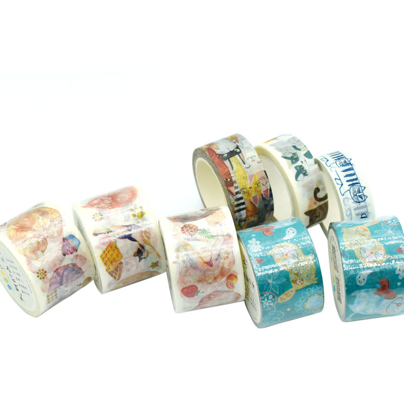 15mm Animal Design Washi Tape Cute Cats Kawaii Wholesale Decorative Adhesive Masking Tape