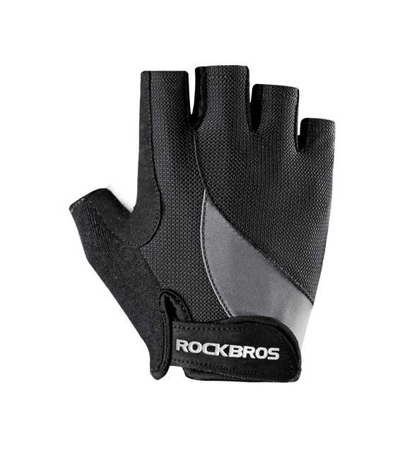 ROCKBROS custom wholesale Cycling Anti-slip Anti-sweat Men Women Half Finger Breathable Sports Gloves MTB Bike Bicycle Glove