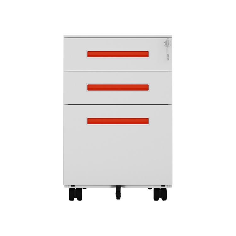 Office furniture Equipment for A4 File steel metal Cabinet Mobile Pedestal storage 3 drawers filing cabinet