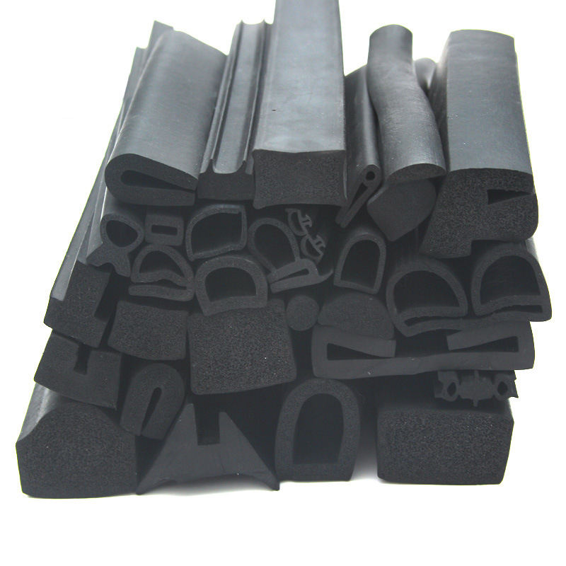 Extruded Rubber Seal Strip Foaming EPDM Strip for Door Windows