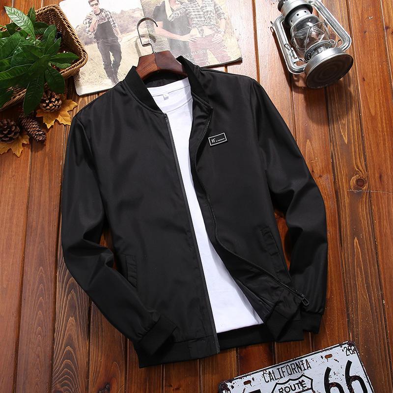 New design custom windproofSpring Autumn windbreaker bomber jacket man