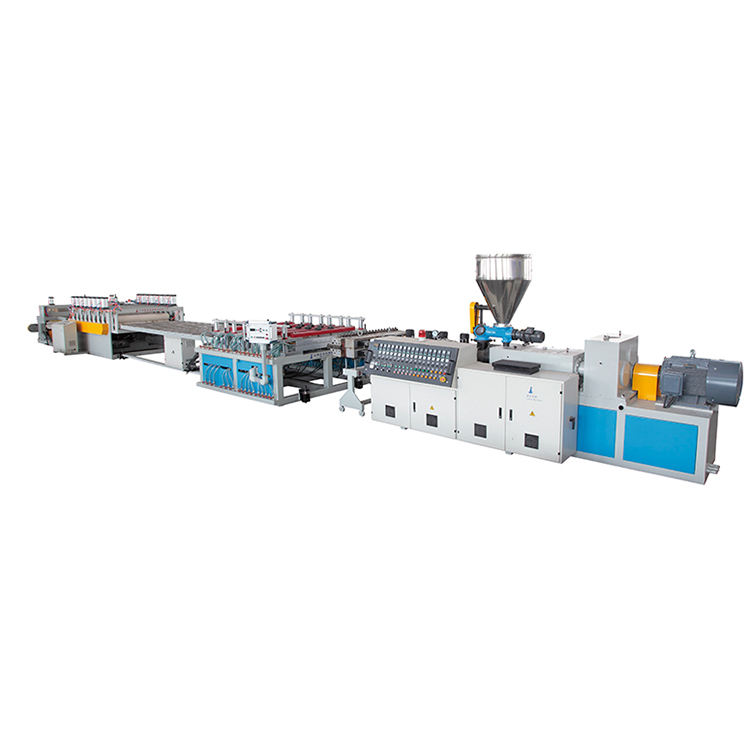 Automatic Twin Screw Foam Sheet Extruder, Pp Pe Pvc Plastic Wallboard Recycle Extruder Machine Price