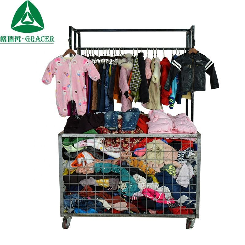 Hot sales baby clothes winter second hand children used clothes