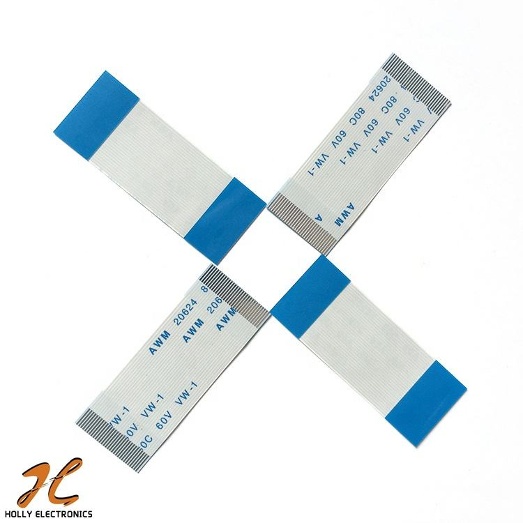 AWM 20624 80C 60V VW-1 FFC Flexible Flat Cable Customized Pitch 0.5//1.0//1.25mm
