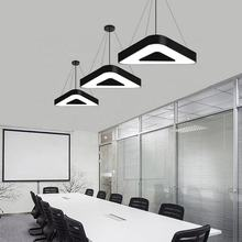 High quality LED linear light aluminum iron acrylic triangle hanging light led panel light