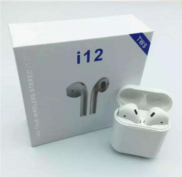 Mobile Accessories Earphone I12 I200 I9000 Tws Nirkabel Bluetooth 5.0 Earphone Mini Colorful Wireless Earbud