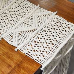 Bohemia Handwoven Decor  Table Runner, Table Runners Handwov