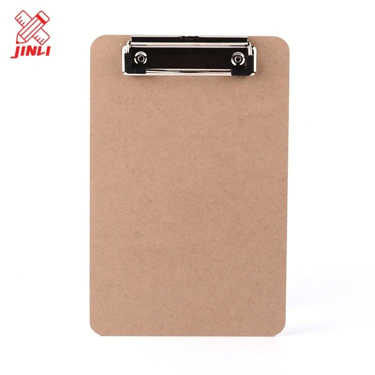 2년 째 board school 용품 office 빈티지 널빤지 customized 나무 a5 mdf clipboards