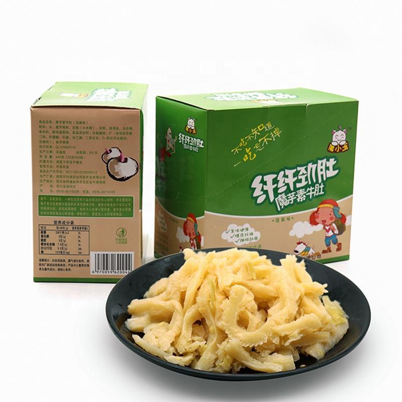 Wholesale Sugar free health food Konjac Vegan Food konjac snack Food