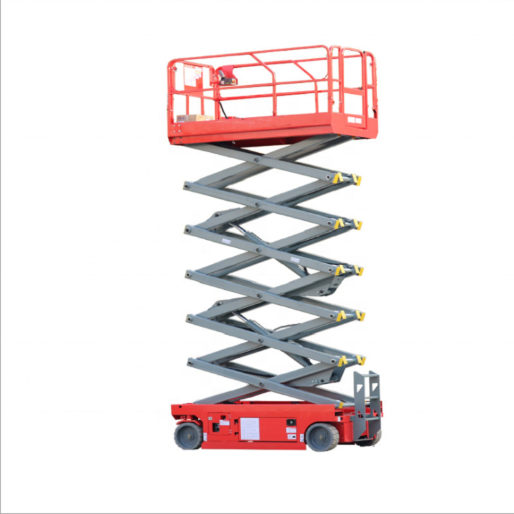 12m hydraulic movable scissor lift scaffolding for sale