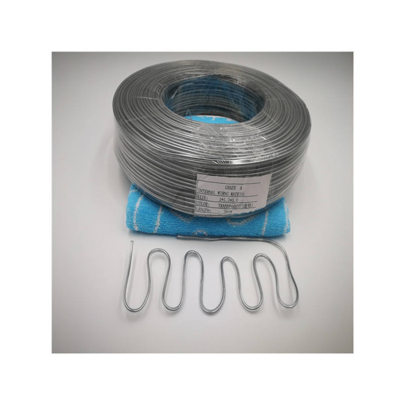Manufacturers Direct High - Quality Wrapped Plastic Aluminum Wire For Hair Decoration