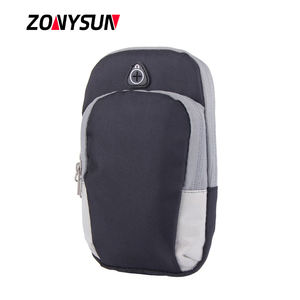 Outdoor Multifunctional Armband Waterproof Running Sports Mobile Arm Bag Custom Cell Phone Bag for Men Women