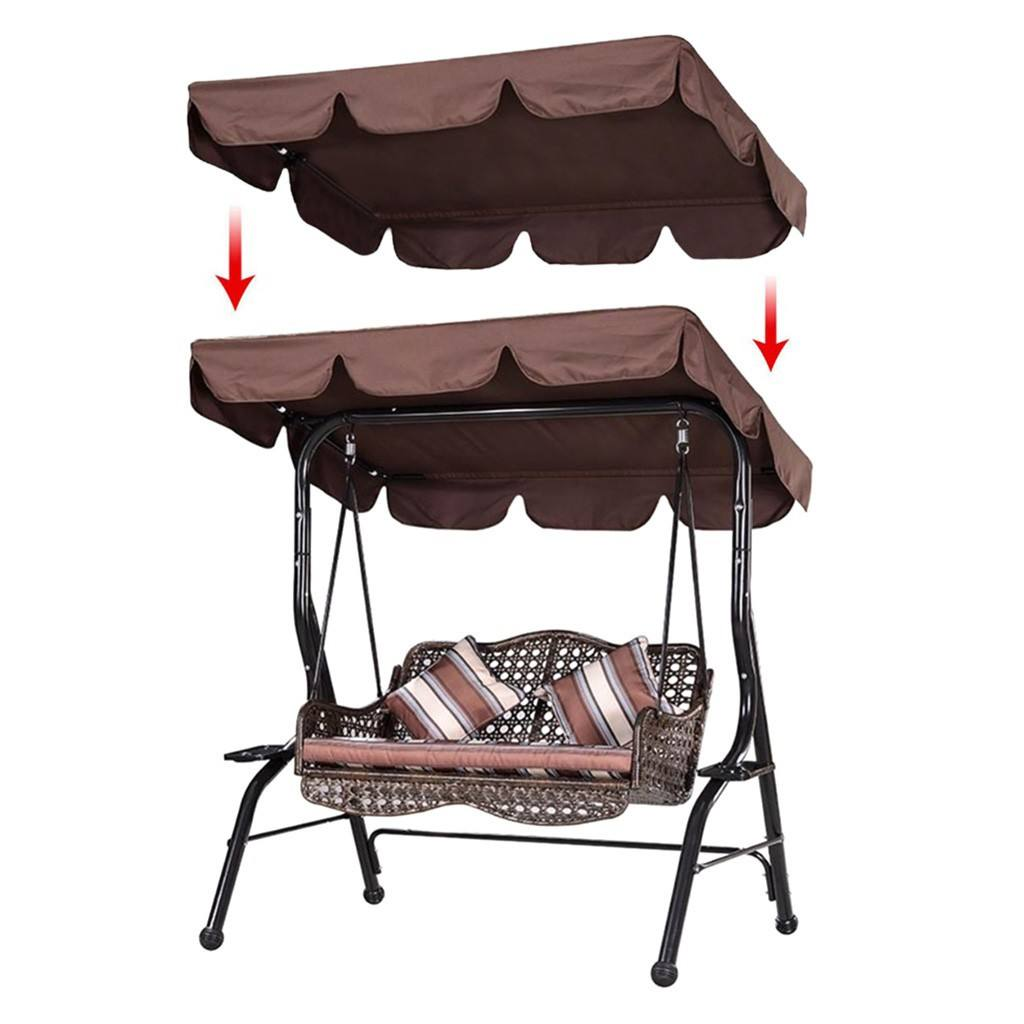 Garden Patio Water proof Seater <span class=keywords><strong>Schaukel</strong></span> Hängematte Baldachin Abdeckung Top Cover Staub dichte Hänge sessel Top Cover