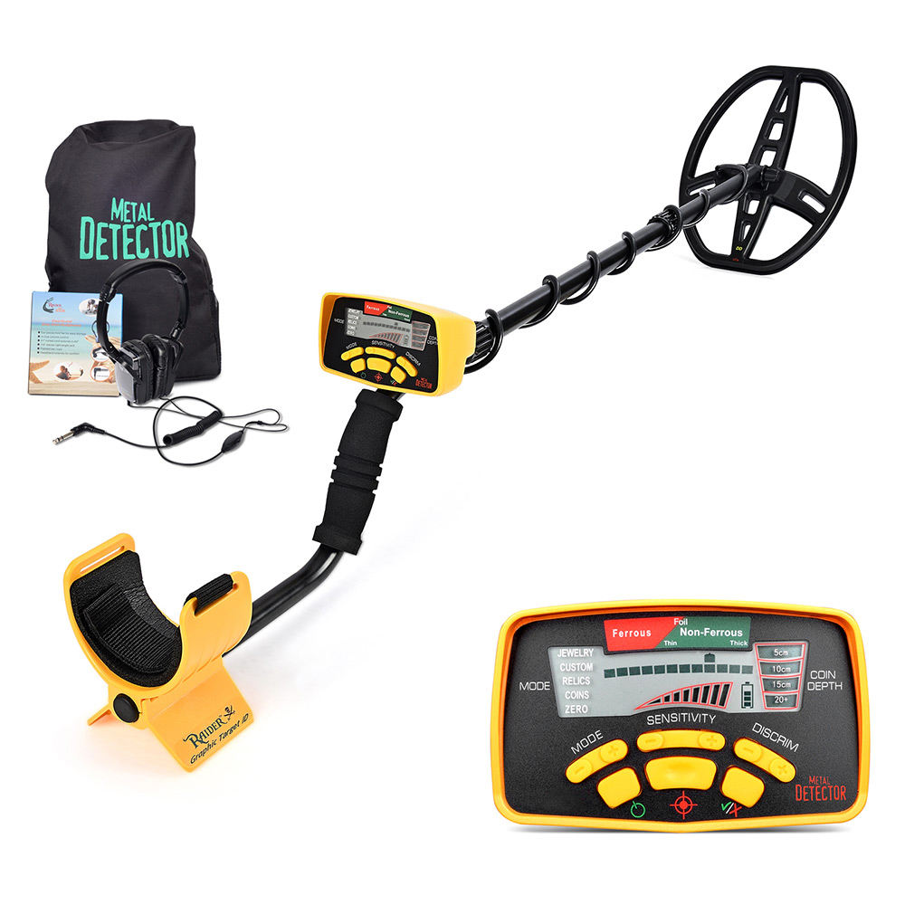 MD6350 ground search 3D gold and metal detector for sale