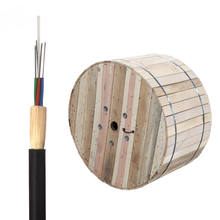 Single Jacket Arimid YARN Strength member ADSS 80m 100m 120m Span optical fiber cable