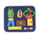Toy Years Old Factory Cheap Price Montessori Early Education Gifts Toy Board Kids Felt Busy Board For 1-5 Years Old