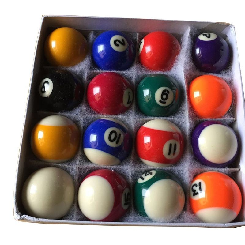 promotion billiard table kids gift tabletop pool ball set