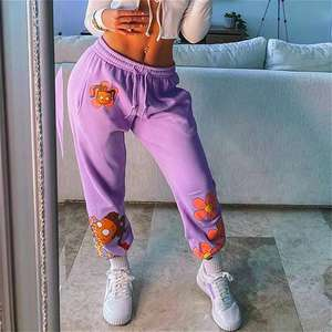 Wholesale womens Gym pants 100% cotton Terry Fleece Sports Joggers Mens SportsWear Joggers