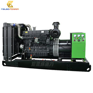 Good performance Shangchai 320kw 400kva diesel generator set price 320 kw 6ETAA12.8-G32