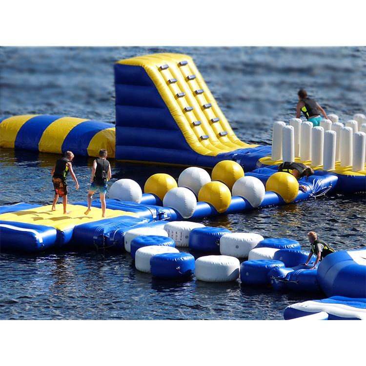 Top Sale! Customized Waterpark Giant Inflatable Water Park Equipment High Quality Floating Inflatable Aqua Park