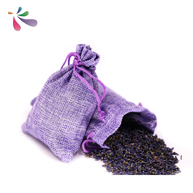 Gift promotion linen lavender sachets lavender bag car air fresh aroma