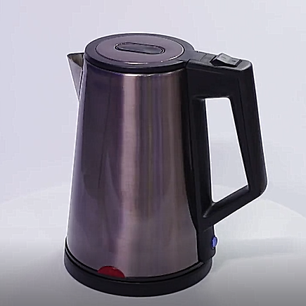 Fashion new design cordless automatic temperature control cooper color travel stainless steel electric kettle