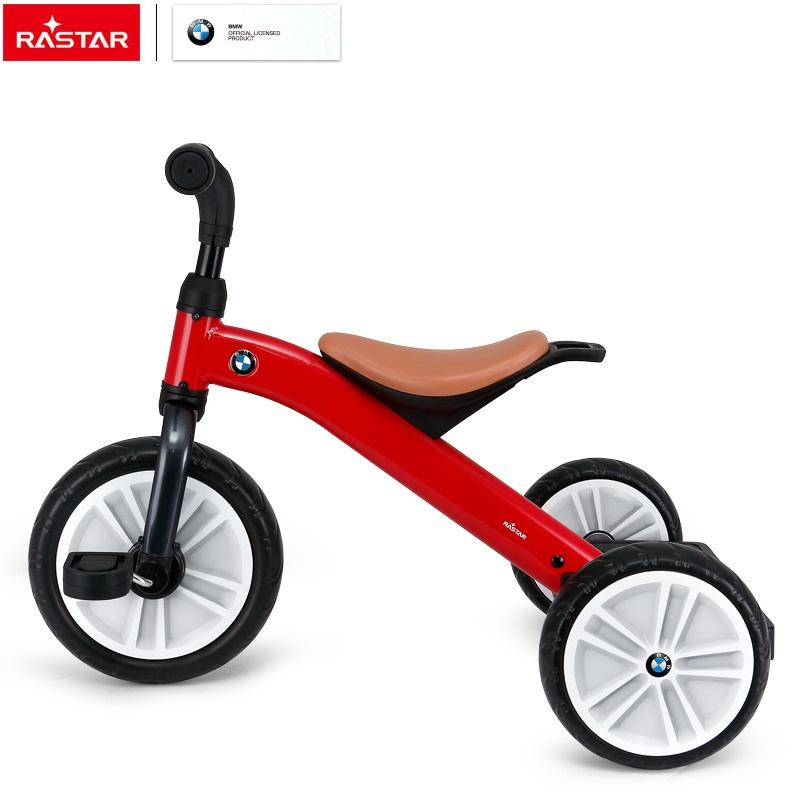RASTAR children manual ride on bike BMW license colorful kids tricycle