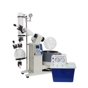 Alcohol distillation equipment 50L vacuum rotary evaporator with soxhlet extractor