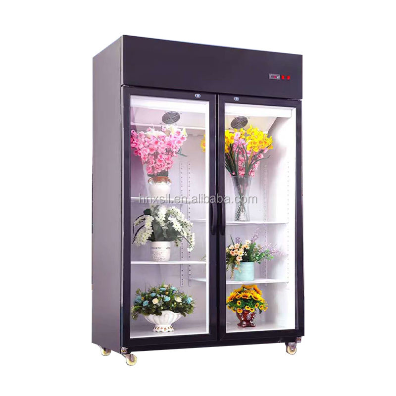 commercial flower display refrigerator fridge display cooler sold in UK