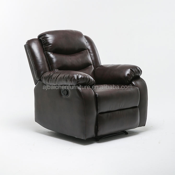 New designs living room furniture recliner sofa leather single sofa chair furniture sofa