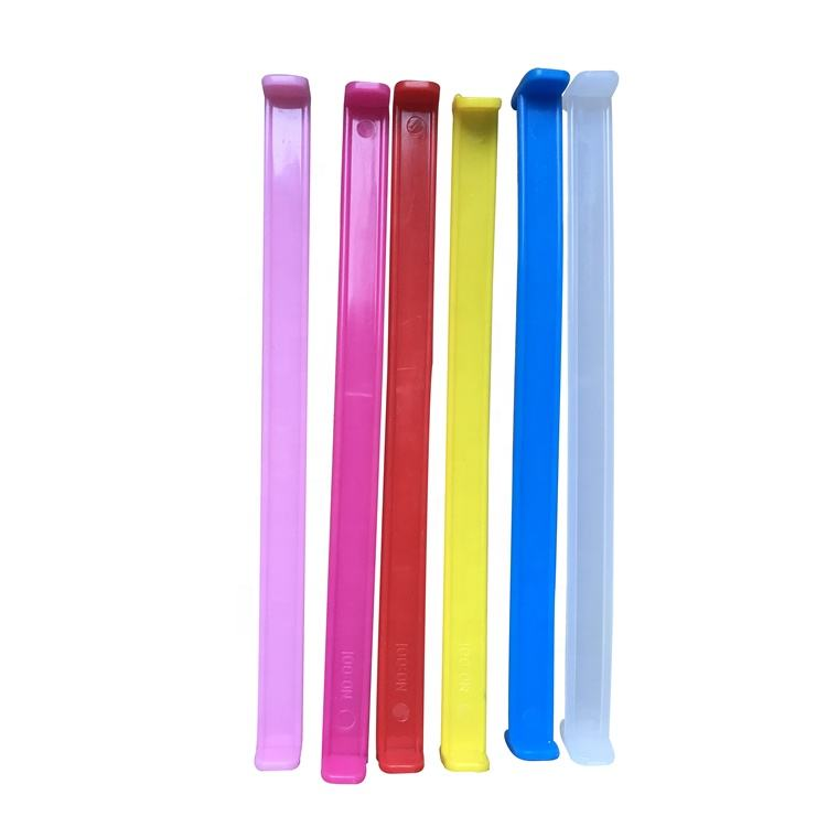 New box molded plastic carrying handles plastic portable handle for cardboard boxes