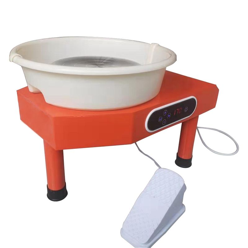 70LB Electric Portable Clay Sculpting Pottery Wheel Machine for ceramics