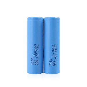 Samsung original produced INR 21700 50E 5000mAh 10A rechargeable battery with high quality for ebike Motorcycle EV