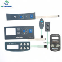 High Quality 3x3 4x4 3x4 9 16 Keys Silver Conductive Ink Membrane Switch Keypad/Keyboard with Connector