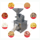 Food/pharmaceutical stainless steel pulverizer with low temperature device and dust collection box hammer mill for sale